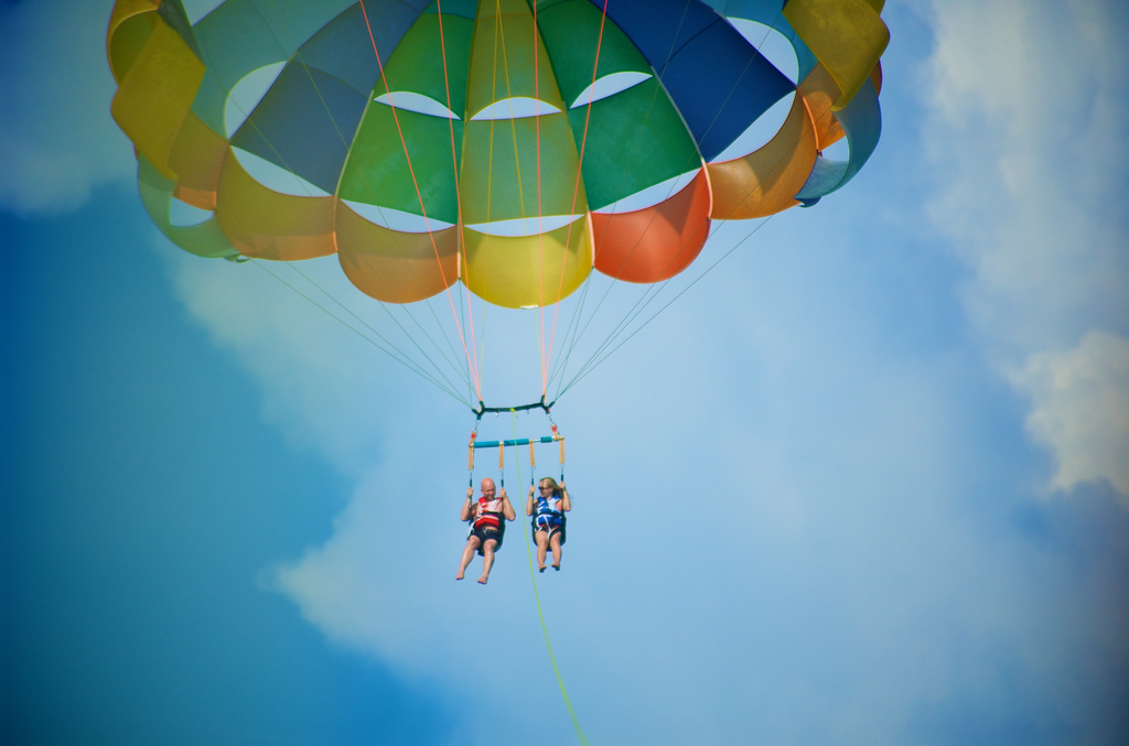 parasailing for destin gallery
